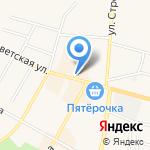 Винная лавка на карте Среднеуральска
