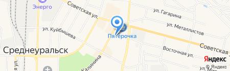 Почтовое отделение №71 на карте Среднеуральска