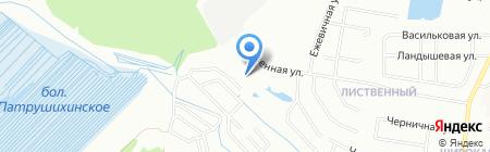 Форрест Хаус на карте Екатеринбурга