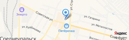 Элект на карте Среднеуральска