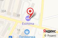 Схема проезда до компании Esthima в Среднеуральске