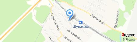 Почтовое отделение №908 на карте Екатеринбурга