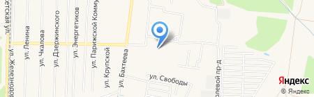 Средняя специальная коррекционная образовательная школа-интернат №111 на карте Среднеуральска