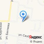 Средняя общеобразовательная школа №6 на карте Среднеуральска