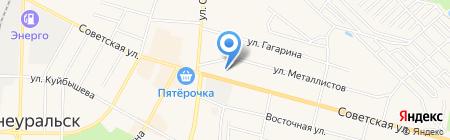 АЗС Навигатор на карте Среднеуральска