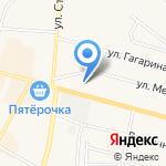 Навигатор на карте Среднеуральска