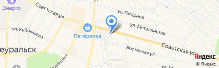 РСК на карте Среднеуральска