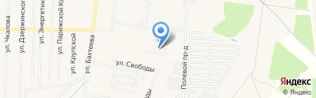 Лесной на карте Среднеуральска