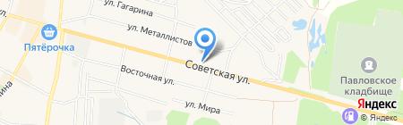 Домострой на карте Среднеуральска
