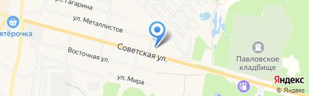 Кировский на карте Среднеуральска