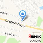 Бэмби на карте Среднеуральска
