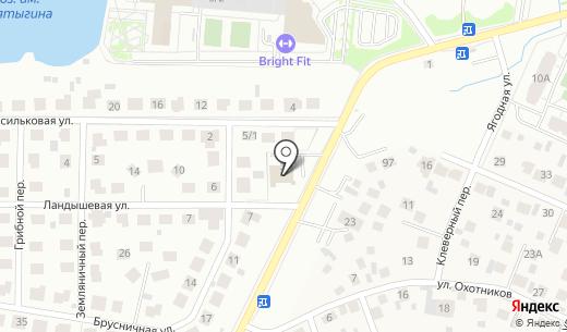 Славянка. Схема проезда в Екатеринбурге