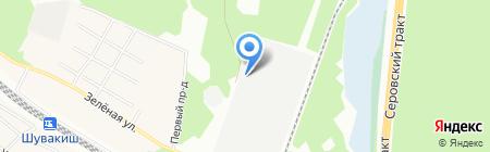 МазТрак на карте Екатеринбурга
