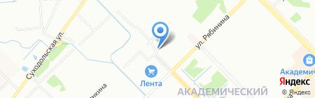 Свердловскмостострой на карте Екатеринбурга