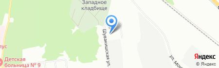 Комбинат строительных материалов №21 на карте Екатеринбурга