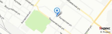 Почтовое отделение №134 на карте Екатеринбурга