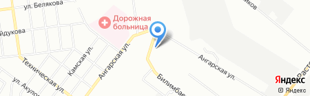 Старт на карте Екатеринбурга