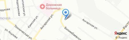 Сталкер на карте Екатеринбурга