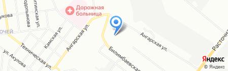 ОЛТЭКС на карте Екатеринбурга