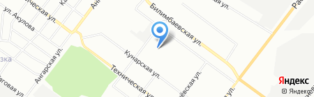 Виват на карте Екатеринбурга