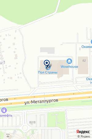 Bellona на карте Екатеринбурга