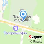 Магазин ритуальных принадлежностей на карте Среднеуральска
