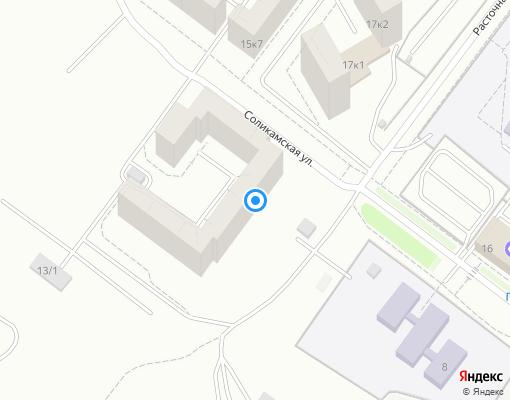 Жилищно-строительный кооператив «Железнодорожный» на карте Екатеринбурга