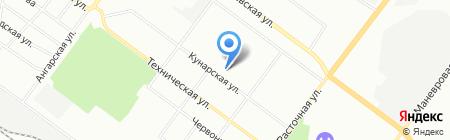 Александра на карте Екатеринбурга