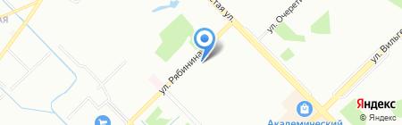 Теплообменпро на карте Екатеринбурга