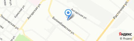 Золушка на карте Екатеринбурга