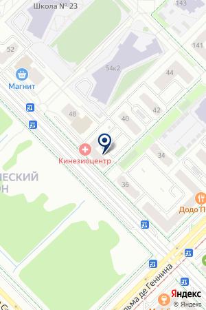 Aadrenalin gym & fitnes на карте Екатеринбурга