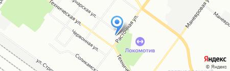 АТС Урал на карте Екатеринбурга