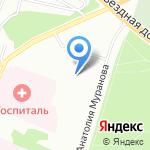 Оптово-розничный магазин цветов и шоколада на карте Екатеринбурга