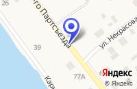 Схема проезда до компании ТОРГОВЫЙ ЦЕНТР ПАДИШАХ в Ивделе