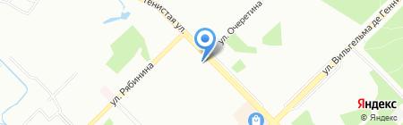 5-квартал на карте Екатеринбурга