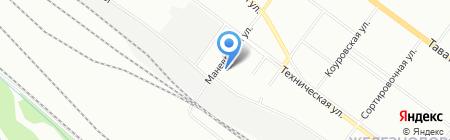 Стекольная мастерская на карте Екатеринбурга