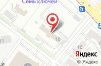 Схема проезда до компании Визард в Екатеринбурге