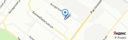 Средняя общеобразовательная школа №122 с углубленным изучением отдельных предметов на карте Екатеринбурга