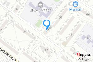 Двухкомнатная квартира в Екатеринбурге м. Машиностроителей, Свердловская область, Ангарская улица, 58