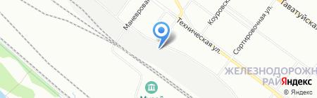 ЛЮКО на карте Екатеринбурга