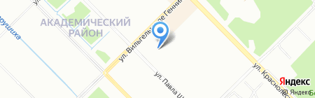 Неовит на карте Екатеринбурга