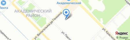 Чудо школа на карте Екатеринбурга