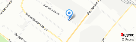 Пересвет на карте Екатеринбурга
