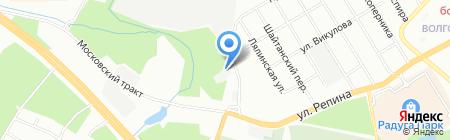 Брукс на карте Екатеринбурга