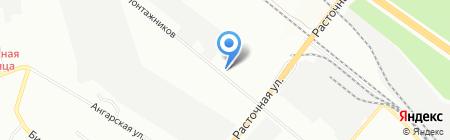 Сибпродмонтаж на карте Екатеринбурга
