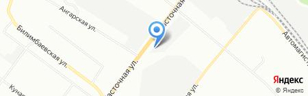 ТимТранс на карте Екатеринбурга