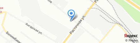 Анид на карте Екатеринбурга