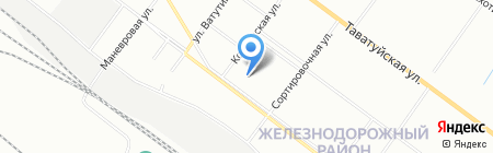 Регион сервис на карте Екатеринбурга