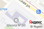 Схема проезда до компании ДЮСШ в Екатеринбурге
