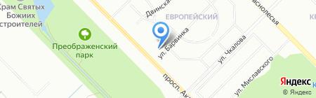 INTERHOUSE на карте Екатеринбурга